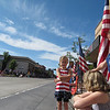 At the Redmond, OR 4th of July Parade