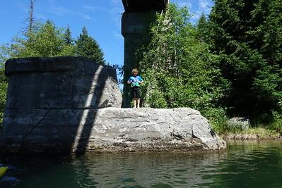 Kol hasn't met a crumbling bridge pier that he hasn't jumped off