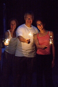 Nina Jeff K sparklers