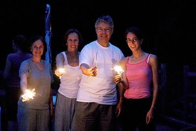 Karen Nina Jeff K sparklers