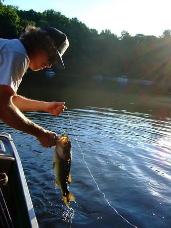 July Fishin' with Sean