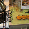 Here's the kit...the grill basket thingy, the patty shaper, and instructions. :)