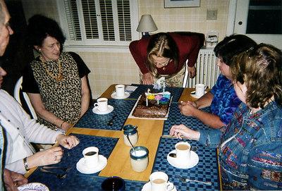 June 2006 - Mom's 75th! Photos by Bob Pokorak at a Julian meeting.