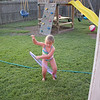 Camden has been wanting a hula hoop, so when Aubrey got one for her birthday, she was excited to get to try it out.