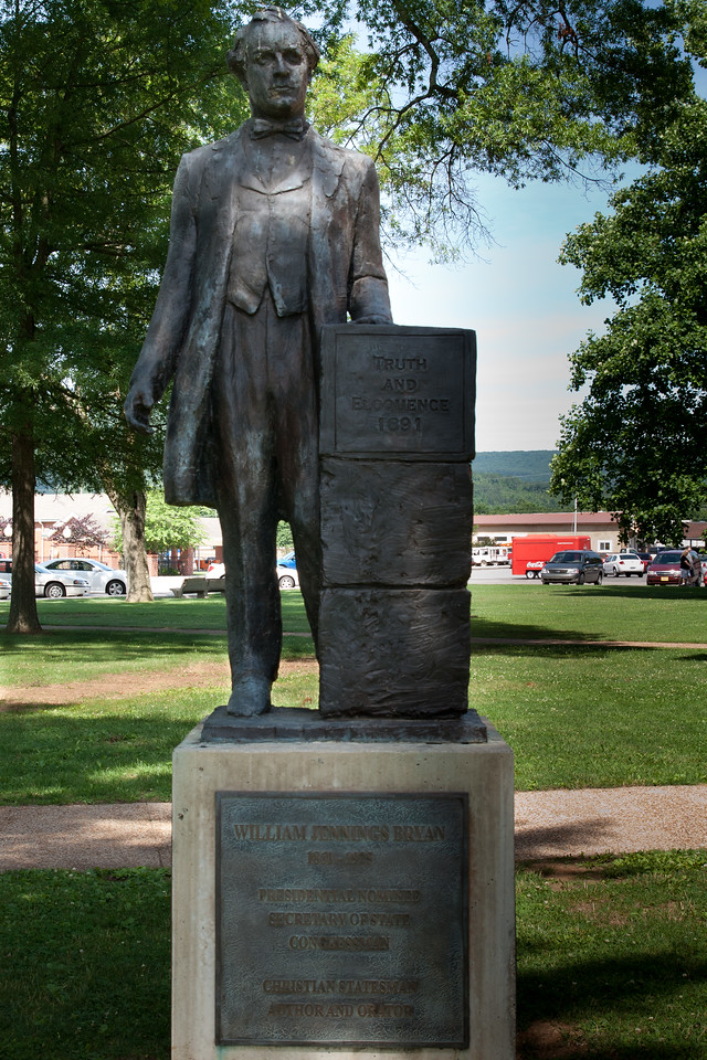 William Jennings Bryan statue, Dayton, TN