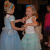 Hallie and Kaitlyn dancing on the stage