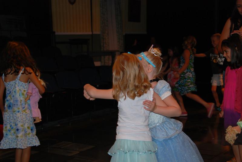 Dancing the tango...