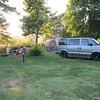 Campsite along the Deschutes River.