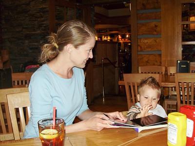 at the Hard Rock Cafe, Lake Tahoe
