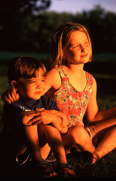 Emily (7) & Matt (4)
