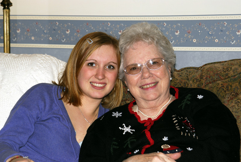 Emily and Mom - 2006