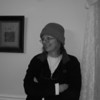 with my lime green fleece hat - Dec 2008