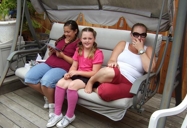 Justene's 13th Birthday, August 2008