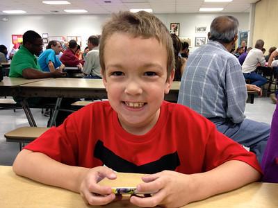 Justin Kindergarten Graduation