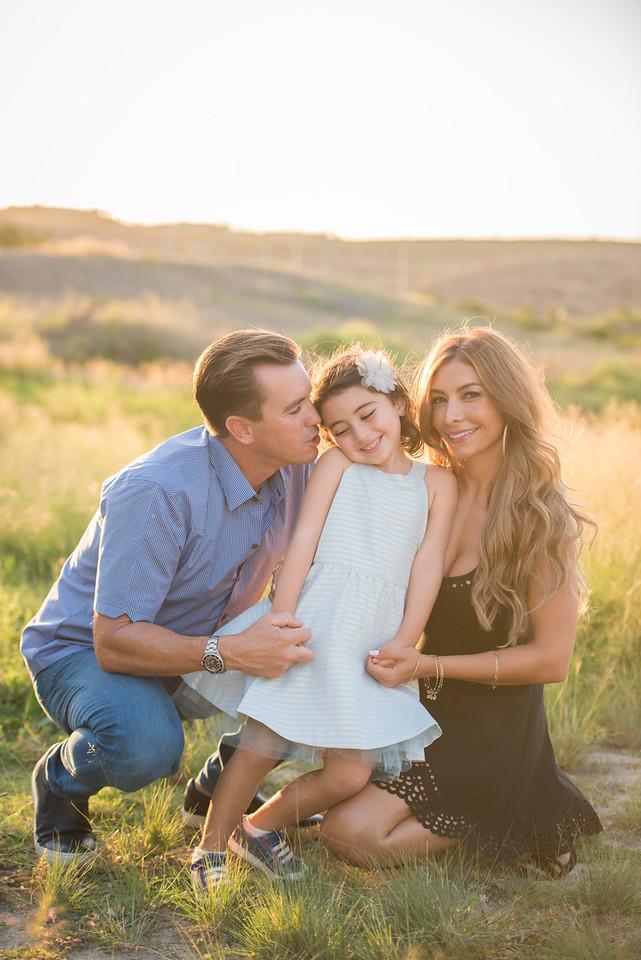 Justin, Ladan & Sienna Family 2016
