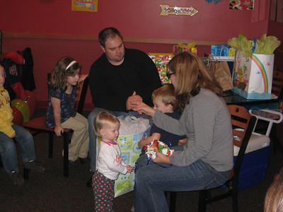 Benjamin's 3rd Birthday Party