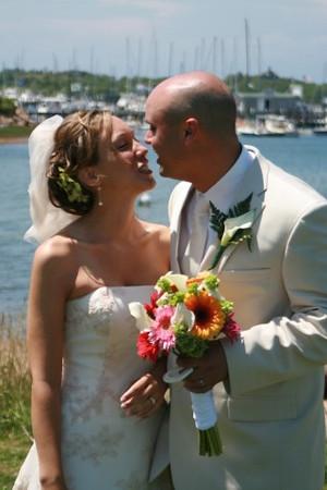Kate and Ashley Nelson's Block Island wedding 2007