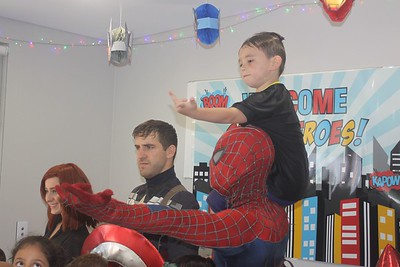 Kai's 6th SuperHeroBirthday