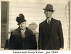Harry and Emma Kaiser - 1948