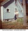 Paul and Helen Kaiser at Wa-bak Cabin 1983
