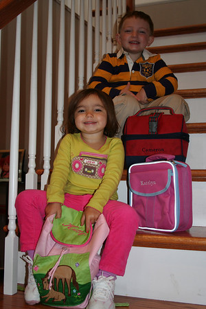 Kaitlyns first day of school