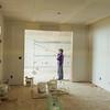 Rearranging furniture.