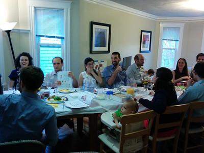 Seder night 14.4.14