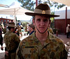Kapooka, 12 Platoon Bravo Company, March-out (12 April 2013)<br /> <br /> After chapel on 14 April 2013. Tom's new life begins on 15 April where he attends initial employment training at Bandiana (base near Albury-Wodonga) for a position as a supply officer.