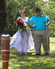 Kara & Her dad (Daryl Swinson) coming down the aisle