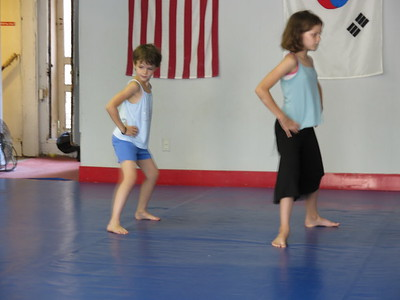 Karate Lessons 1