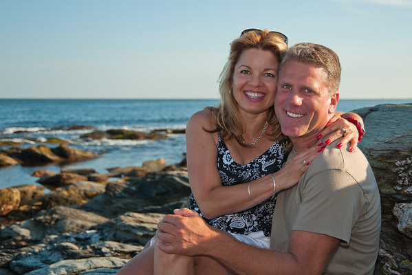 Charley and Karen, Beavertail, Jamestown, R.I.