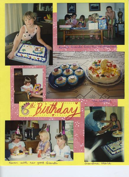 Karen Baby Book