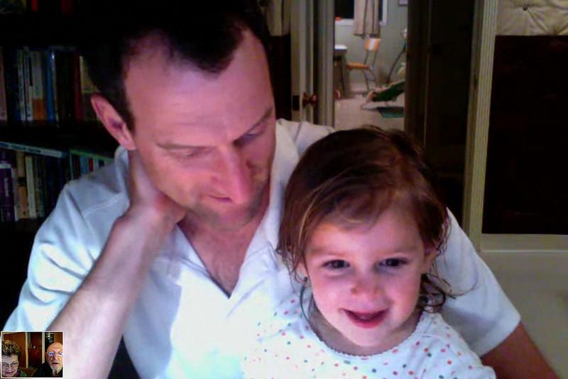 Hazel on Skype 1-13-10