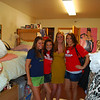 Katie, Jackie, Courtney (who lives in the dorm room nextdoor) and another cute, unidentified co-ed.