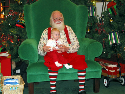 katelyn and santa