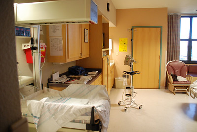 Labor/Delivery rooms at YRMC are nice and spacious as well as fully prepared.