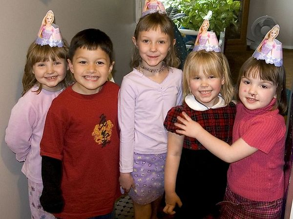"<br><br><font size=""3"">A party for the birthday girl.  The usual suspects have been rounded up.</font>"