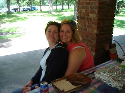 Miss Megan and me.  Oh Meg!