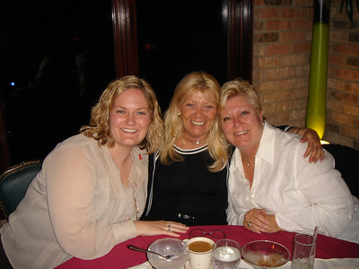 Me, Aunt Suzie and Mom.  What a dangerous group of girls!