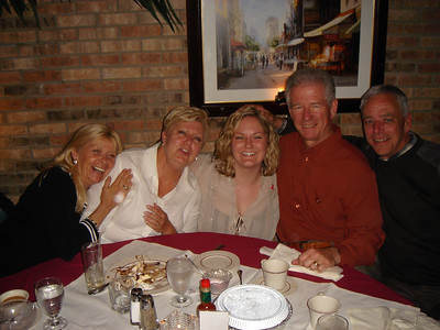 Aunt Suzie, Mom, Kate, Dad and Uncle Mike