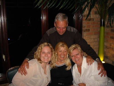Uncle Mike looking at the ladies...