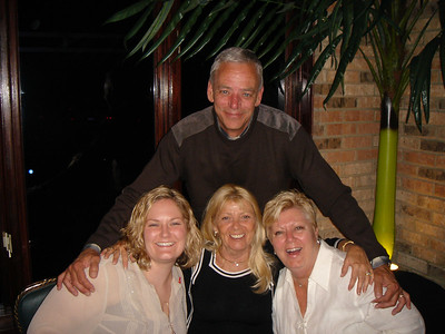 Uncle Mike and the lovely ladies