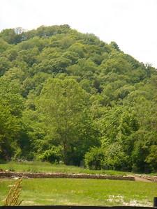 More pretty hill...