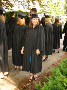 THE GRADUATE!! Congrats Meg!  Way to go!!