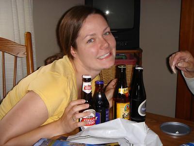 Megan brought back Beer!