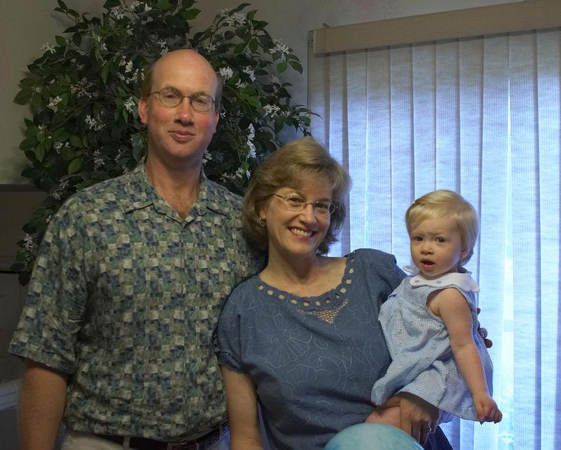 Michael, Deana, and Katie Menard in May 2005.