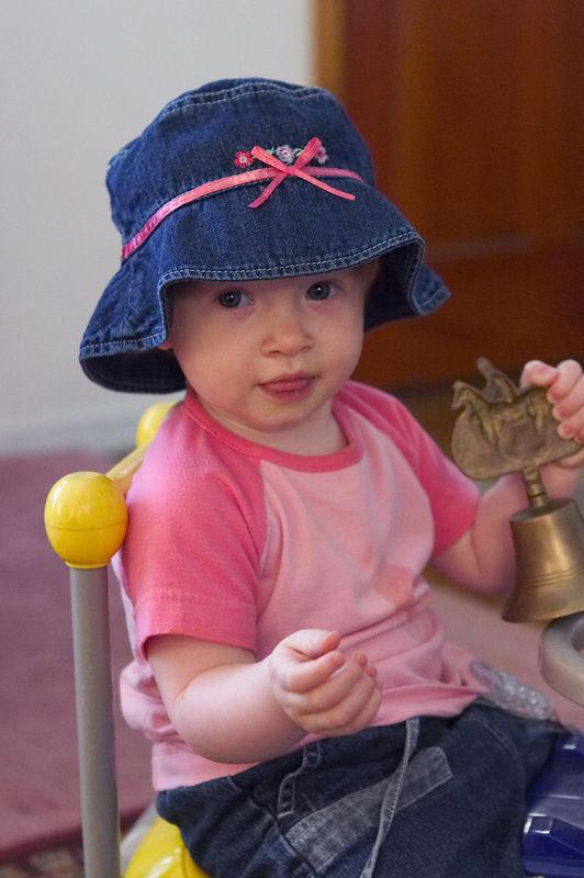 Katie Menard in May 2005