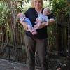 Grandma Kathy holding Hulk & Thor