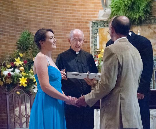 Kathy and David's Wedding Part 1