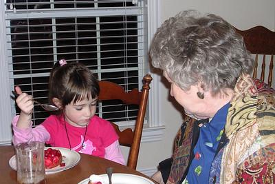 Rachel Kane Visit to Texas -  Dinner at KK's House
